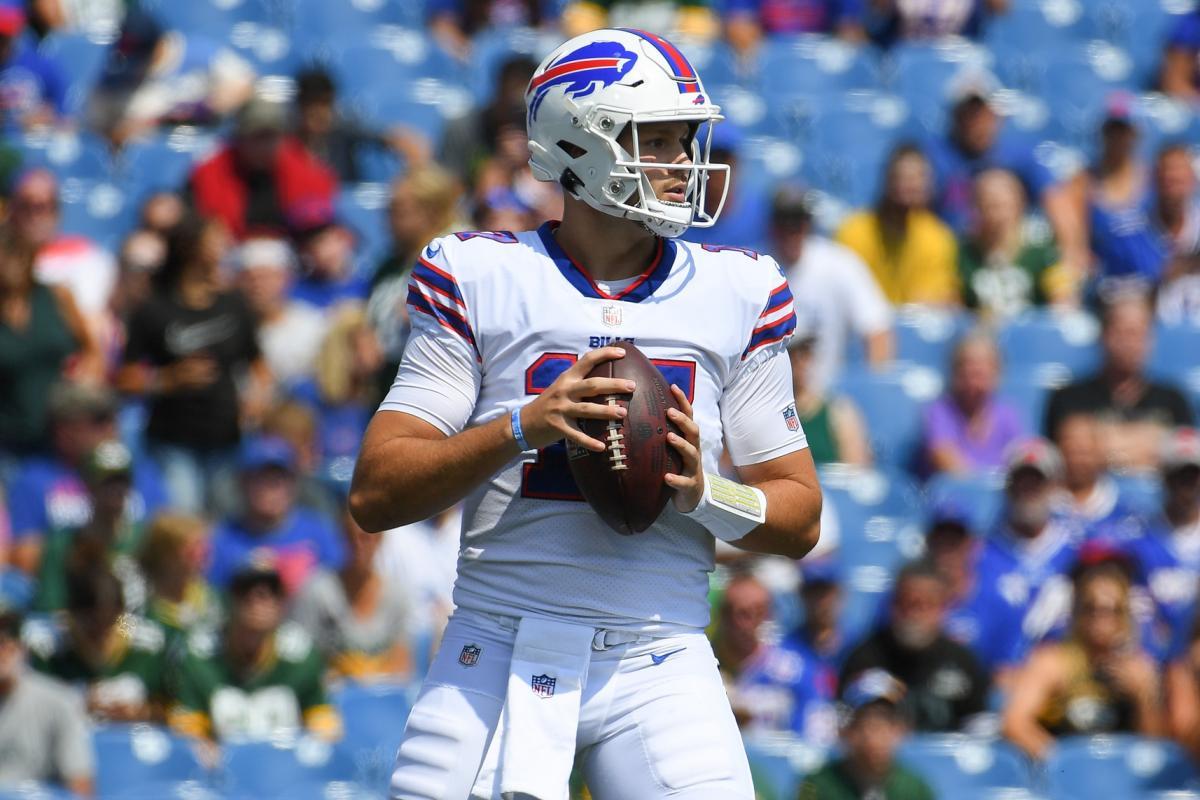 Buffalo quarterback Josh Allen