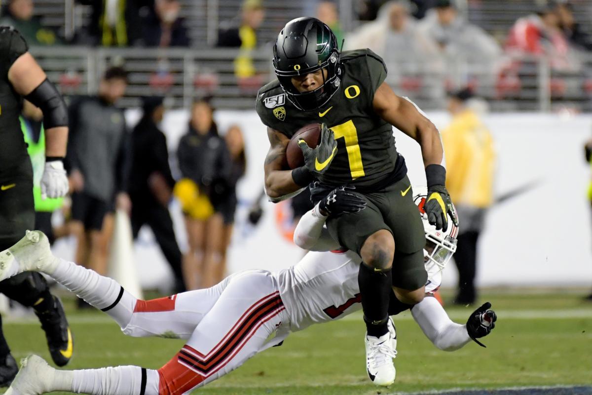 Oregon running back CJ Verdell