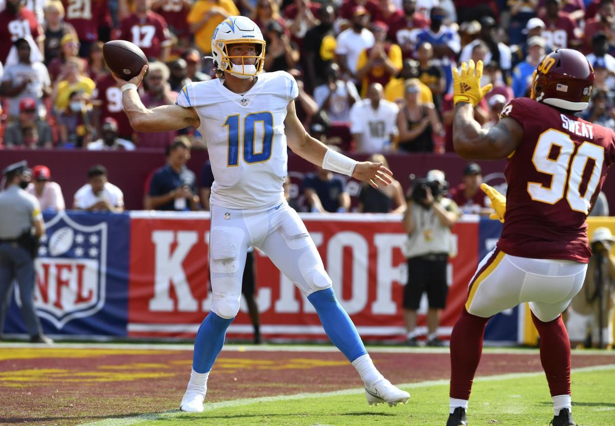 Chargers quarterback Justin Herbert